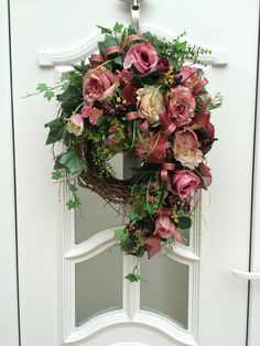 Door Wreaths,Türkranz,Wianek na drzwi.