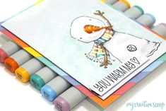 Use your scraps to create colorful backgrounds (My Creative Scoop) Autumn Theme, Winter Theme, Create Your Own Background, Pretty Pink Posh, Different Holidays, Online Coloring, Cute Snowman, Class Projects, Digi Stamps