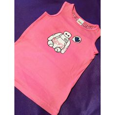 Baymax Big Hero 6 Girls Shirt by YGcrafts on Etsy