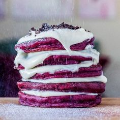 Red Velvet Pancakes to Make up for Everything You did Wrong Last Year #FWx