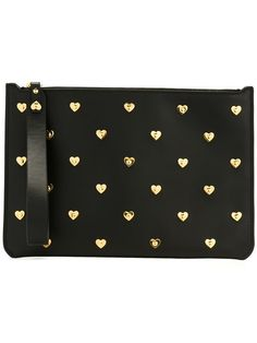 Shop+Sophie+Hulme+heart+stud+clutch+in+Nugnes+1920+from+the+world's+best+independent+boutiques+at+farfetch.com.+Shop+400+boutiques+at+one+address.