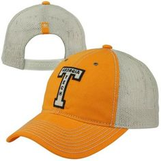 806f14a4f53 adidas Georgia Tech Yellow Jackets College Vault Slouch Trucker Adjustable  Hat - Gold Yellow Jackets