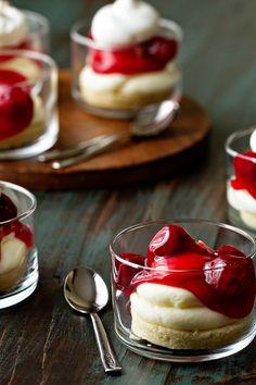 Cherry Cheesecake Image on My Baking Addiction