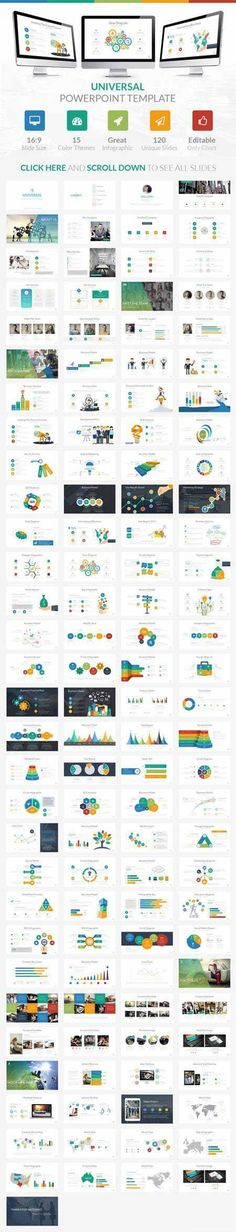 ppt template design and presentation structure Infographic - powerpoint brochure template