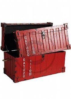 Παλαιωμένα κουτιά - Vintage Μπαούλα