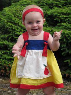 Snow White Apron Knot Dress