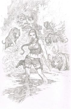 Tomb Raider | Lara Croft •Marc Silvestri