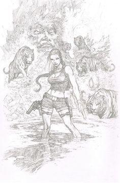 Tomb Raider | Lara Croft •Marc Silvestri