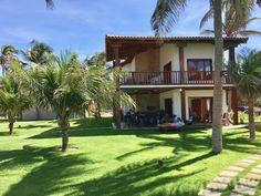 Bangalô Superior (177m2) na beira da praia de Flecheiras,... - 4497669 Village House Design, Country House Design, Simple House Design, House Front Design, Minimalist House Design, Village Houses, Tropical House Design, Tropical Houses, Future House