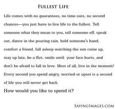 Fullest Life