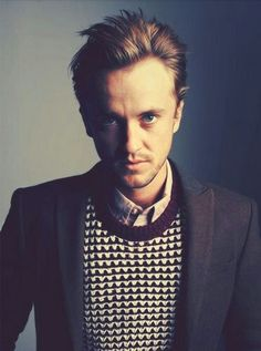 Tom Felton, your evel-look is too hot for this world...