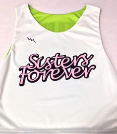 Sisters forever from Lightning Wear®. Made to order custom jerseys in Maryland…