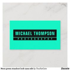Photo Editor And Printer #cameragirl #PhotoEditor Modern Business Cards, Professional Business Cards, Taking Pictures, Cool Pictures, Michael Thompson, Video Editing, Neon Green, Photo Editor, App Design