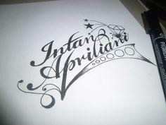 typography intan apriliani : )