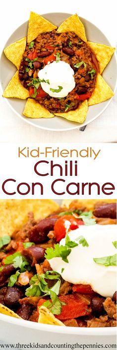 A delicious kid-friendly Chili Con Carne recipe.