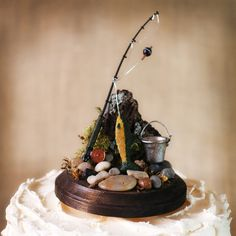 Hunting and Fishing Cake Toppers - Bing Images