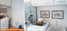 Apartamento decorado 2 dormitórios do Parque Franca Garden no bairro Santa Cruz - Franca - SP - MRV Engenharia - Área de Serviço