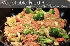 I've shared my recipe for chicken fried rice before but I have a simplified recipe that I use as an easy backup dinner at least once a week. It's easy because it uses frozen pre-cooked rice and you...