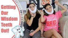 brooklyn and bailey get their wisdom teeth out - YouTube