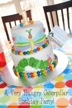 Moments That Take My Breath Away: Grace's 1st Birthday Very Hungry Caterpillar party