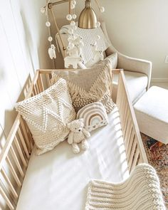 Boho Nursery, Nursery Neutral, Girl Nursery, Nursery Decor, Nursery Ideas, Babies Nursery, Girl Room, Rainbow Nursery, Rainbow Baby