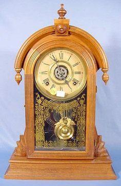 -Antique INGRAHAM Clocks -
