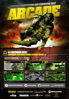 ARCADE 2012 Airsoft Competition And Exhibition.