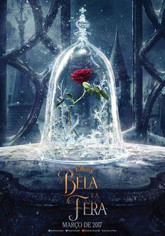 Saiu o primeiro cartaz de A Bela e a Fera e o destaque, claro, é a Rosa e sua cúpula.