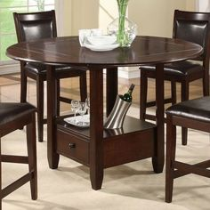 Shayne Drop Leaf Bar Height Table | Pottery Barn...perfect Breakfast Table  For Two! | Kitchen Ideas | Pinterest | Bar Height Table, Pottery And Barn