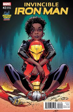 Scott Campbell came under fire recently for a Midtown Comics EXCLUSIVE variant cover for Invincible Iron Man depicting teen Riri Williams in a way Marvel Comics, Marvel E Dc, Marvel Comic Universe, Marvel Girls, Marvel Heroes, Cosmic Comics, Marvel Women, Comics Universe, Black Characters