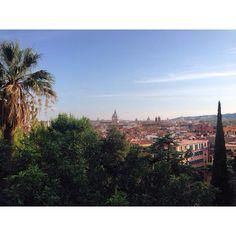 Da qui tutto ha un'altra prospettiva! Piazza del Popolo, il Pincio. #laromacheconosco