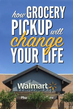 Grocery shopping just got easier thanks to Walmart Online Grocery Pickup. Quit…