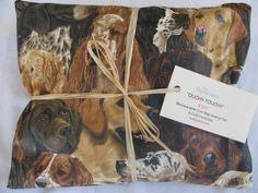 """Dog Portraits"" Ouchy Pouchy Microwavable Corn Bag Heating Pad"