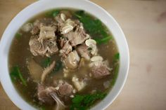 Zippy's oxtail soup