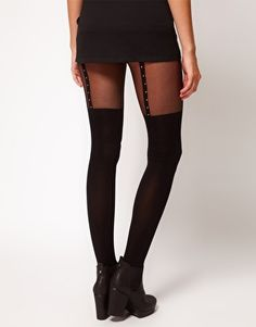 UGH. I want these suspender tights so hard.  ASOS