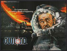 """""""Atmósfera Cero"""" (Outland - 1981) Peter Hyams"""