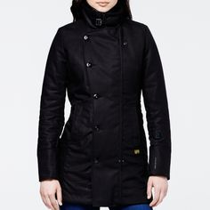 New Minor Trench by G-Star Raw...my fav jacket I own.