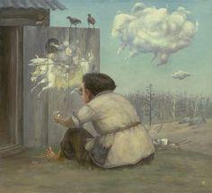 by Zhamso Radnaev Russian artists