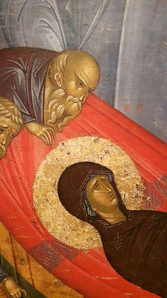 Christian Art, Religious Art, Virgin Mary, Fresco, Nativity, Catholic, Medieval, Religion, Presentation