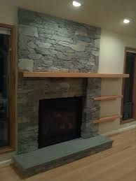 Image result for asymmetrical fireplace walls