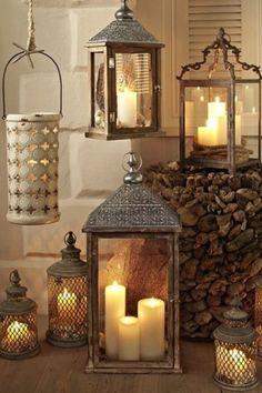 Il fascino delle lanterne.