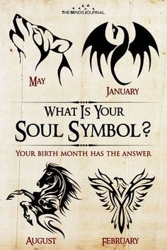 Tattoos Discover What Is Your Soul Symbol? Your birth month has the answer Astrology Zodiac, Virgo, Leo Zodiac, Scorpio Symbol, What Month Is Capricorn, Empath Symbol, Zodiac Facts, Birth Month Symbols, Aries Birth Month