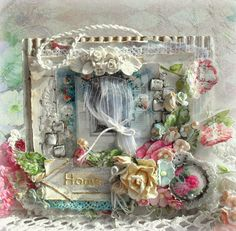 Nur's beautiful Shabby Chic card