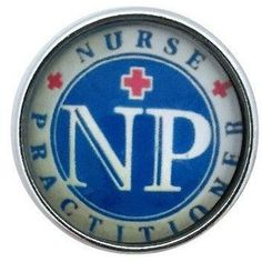 #390 Nurse Practitioner Snap 20mm for Snap Charm Jewelry