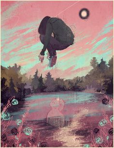 Awesome Surreal Illustrations by James Fenner