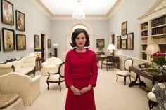 Natalie Portman como Jacqueline Kennedy em Jackie