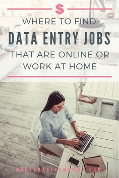 Online Data Entry Jobs From Home [Part-Time & No Fees!] Work From Home Companies, Work From Home Jobs, Make Money From Home, Online Data Entry Jobs, Job Information, Job Ads, Part Time Jobs, Reading Material, Entry Level
