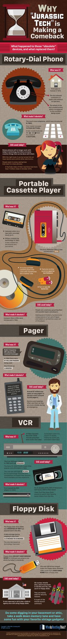 "Why ""Jurassic Tech"" is Making a Comeback #infographic #Technology"