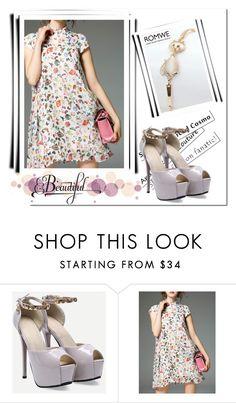 """""""ROMWE 9/3"""" by melissa995 ❤ liked on Polyvore"""