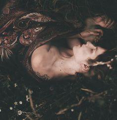 "julieoftheworldtree: "" Ghosts that we knew. Selfportrait. """